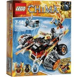 Lego CHIMA - La moto ombra di Tormak (70222)