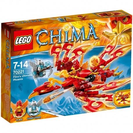 Lego CHIMA - La fenice di fuoco di Flinx ( 70221 )