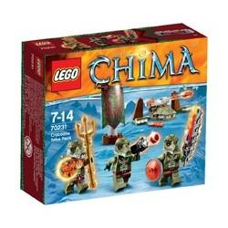 Lego Chima - Tribù dei Coccodrilli (70231)