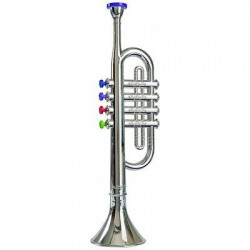 Simba toys - My Music World  - Tromba 37 Cm Con 4 Tasti