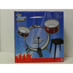 Simba toys - My Music World - Batteria con Sgabello