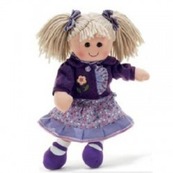 Plush & Company - ALEXIA - Bambola di pezza 35 cm.