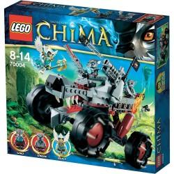 Lego Chima - Il fuoristrada Lupo di Wakz (70004)