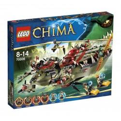 Lego CHIMA - La Nave Coccodrillo di Cragger (70006)