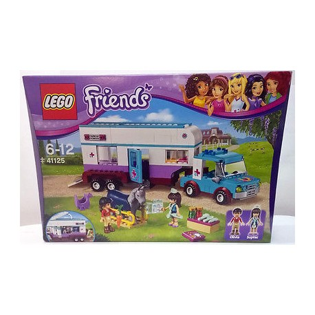 Lego Friends - Rimorchio veterinario dei cavalli (41125)