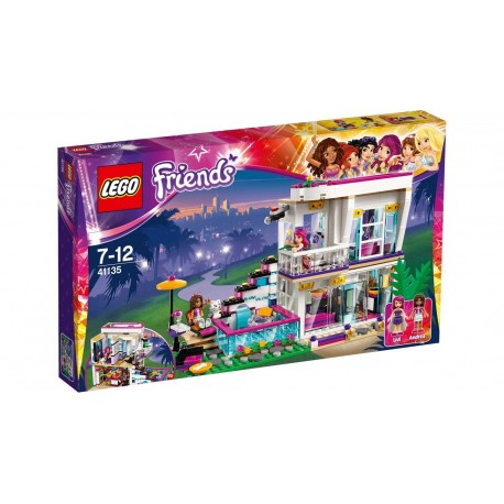 Lego Friends - La casa della Pop Star Livi (41135)