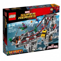 Lego SUPER HEROES - Spider-Man: la battaglia sul ponte dei Web Warriors (76057)