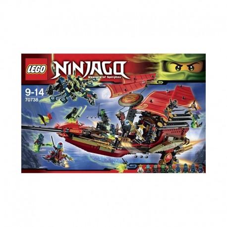 Lego NINJAGO - Il volo finale del Vascello del Destino (70738)