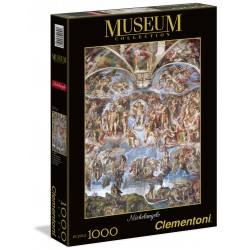 "Clementoni - 1000 pcs - Michelangelo ""Giudizio Universale""  Museum Collection"