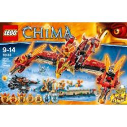 Lego CHIMA - Tempio di Fuoco della Fenice Volante