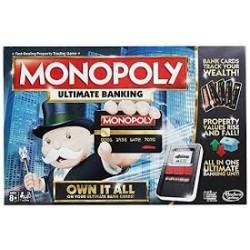 """Hasbro """" MONOPOLY ULTIMATE BANKING """""""