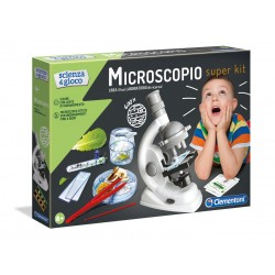 "Clementoni Scienza & Gioco "" Microscopio Super Kit """