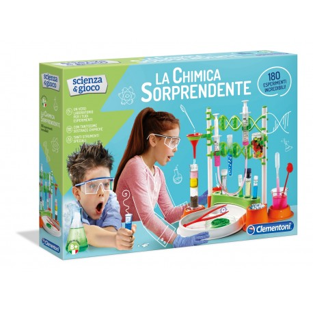 """Clementoni Scienza & Gioco """" La chimica sorprendente """""""