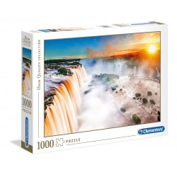 Clementoni PUZZLE  Waterfall - 1000 pezzi - High Quality Collection