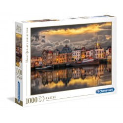 Clementoni Puzzle 1000 pezzi Dutch Dreamworld - High Quality Collection
