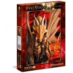 Clementoni PUZZLE 1000 pezzi Inner Strenght - Anne Stokes Collection