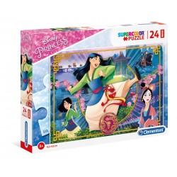 "Clementoni "" Supercolor Puzzle Disney Princess Mulan - 24 pezzi """