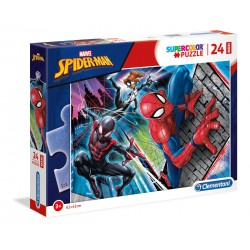 """Clementoni """" Supercolor Puzzle Marvel Spider-Man - 24 pezzi """""""