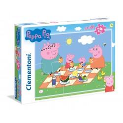 "Clementoni "" Puzzle 24 MAXI PEPPA PIG """