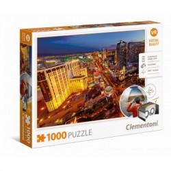 Clementoni 39404 - Las Vegas  - puzzle 1000 pezzi