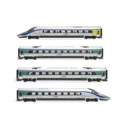 """Lima Expert """" Cisalpino, set di 4 unità, treno EMU classe ETR 610 in livrea d'origine """""""