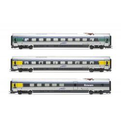 """Lima Expert """" Cisalpino, set di 3 unità aggiuntive, treno EMU classe ETR 610 in livrea d'origine, epoca VI """""""