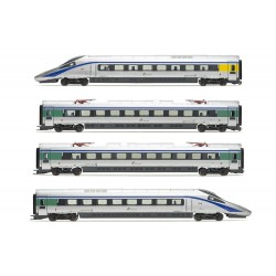 "Lima Expert "" FS, set di 4 unità, treno EMU classe ETR 610 in livrea ""Cisalpino"" """