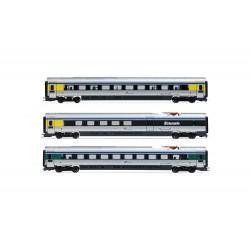 """Lima Expert """" FS, set di 3 unità aggiuntive, treno EMU classe ETR 610 in livrea """"exCisalpino"""", epoca VI"""
