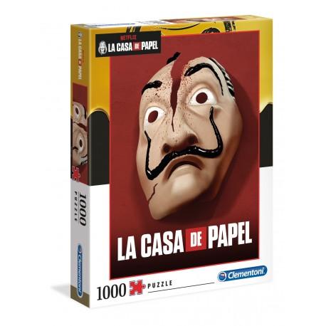 """Clementoni """" Puzzle 1000 pezzi LA CASA DI CARTA (Netflix) """""""