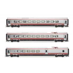 """Lima Expert """" FS, set di 3 unità aggiuntive, treno EMU classe ETR 610 in livrea """"Frecciargento"""", epoca VI """""""