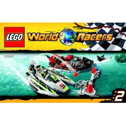 LEGO World Racers - Duello sulle onde (8897)