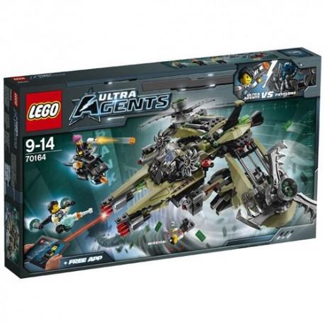 Lego ULTRA AGENTS - Missione Uragano ( 70164 )